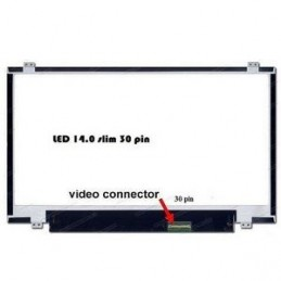 "LP140WD2(TP)(D1) DISPLAY LCD  14.0 WideScreen (12""x7.4"") LED"