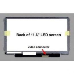 B116XW03 V.1 HW0B Display Led 11,6 slim 40 pin 1366x768