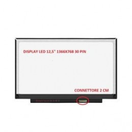 "B125XTN01.0 DISPLAY LCD 12,5"" HD 1366X768 30 PIN"