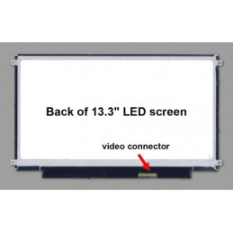 B133XW01 V.2 Display led 13,3 Slim 1366x768 40 pin