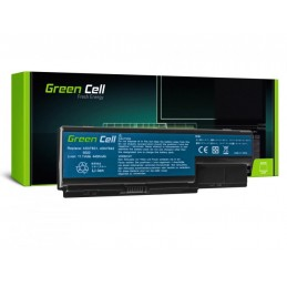 Batteria Acer 11,1 V 4400 mHa 6 CELLE Black Extensa 5210-300508  5210 5220-051G08Mi 5220-100508  5220-100508Mi 5220-101G08Mi 522