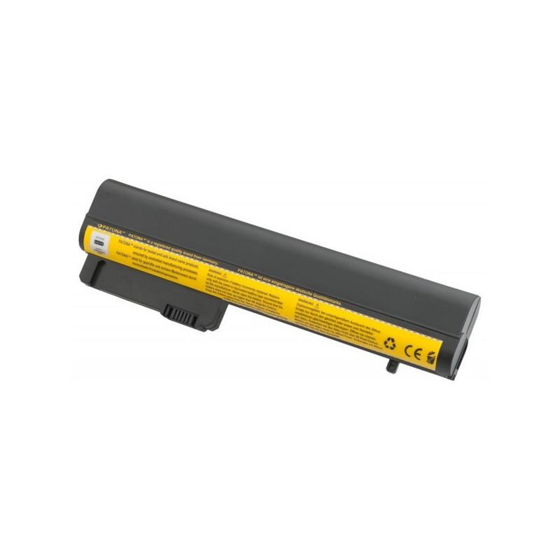 Batteria HP 11,1V 4400 mAh 6 CELLE NERA HP COMPAQ 2400 2510p nc2400HPHP 2533t Mobile Thin Client  EliteBook 2530p