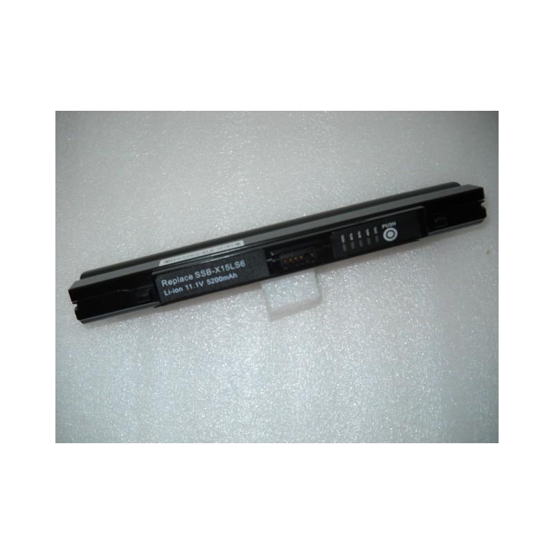Batteria Samsung 11,1 V 5200 mHa 6 CELLE SILVER BLACKM40 M40 Plus HWM 745 M40 Plus Series M40 Plus WVM 1600 M40 Plus WVM 2000 NX
