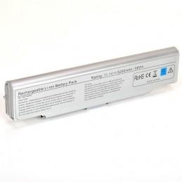 Batteria Sony 11,1 V 7800 mHa 9 Celle silverSONY VAIO VGN-AR53DB VGN-AR54DB  VGN-AR55DB VGN-AR61E  VGN-AR61M  VGN-AR61S  VGN-AR6