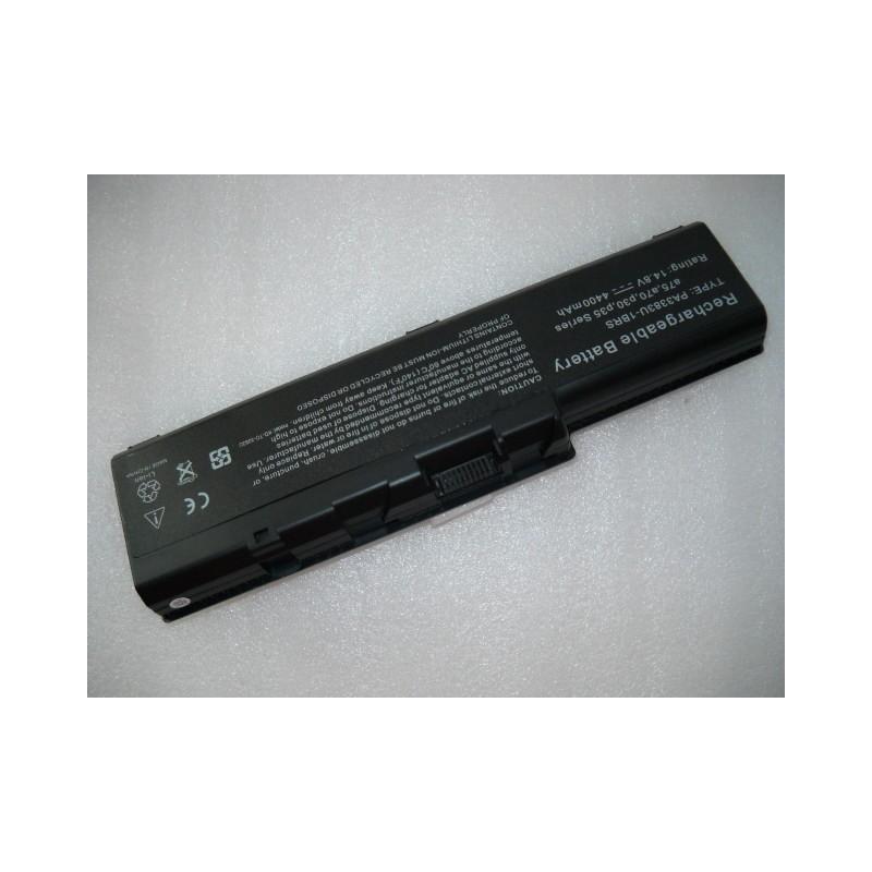 Batteria Toshiba 14,8 V 4400 mHa 8 celle A70-S2362  A70-S249  A70-S2491 A70-S2492ST  A70-S256  A70-S2561  A70-S259  A70-S2591  A
