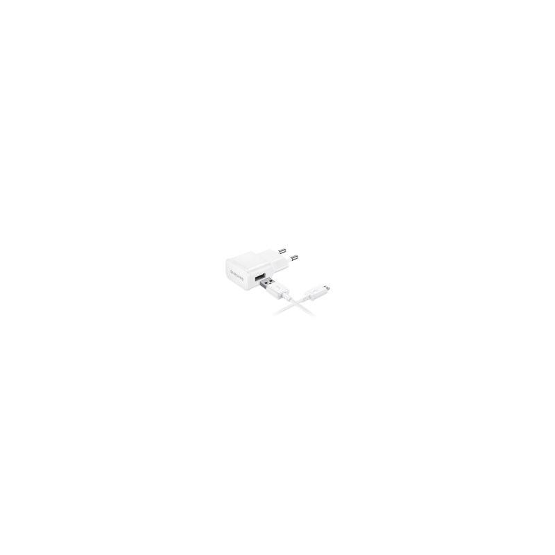 CARICABATTERIE DA RETE ORIGINALE SAMSUNGGalaxy Note 4 S6 S6 EDGE EP-TA20EWE+DCU4AWE 2A bulk