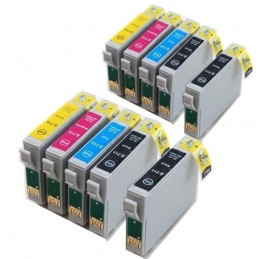Cartucce Inkjet Multipack per Epson T0711 T0712 T0713 T0714