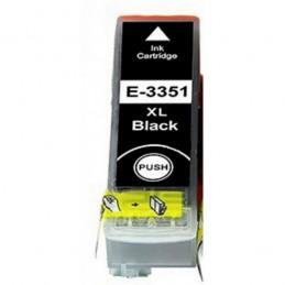 Cartuccia Comp. con EPSON T3351 XL BK 33XL