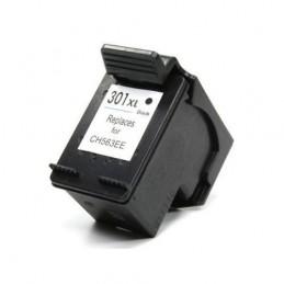Cartuccia Comp. con HP 301XL BK Tripla Capacità New Chip
