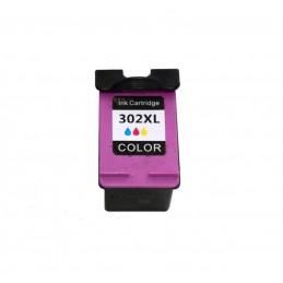 Cartuccia Comp. con HP 302XL COLOR Tripla Capacità New Chip