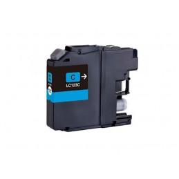 Cartuccia Inkjet compatibile Brother L123 Ciano DCP-J132W DCP-J152W DCP-J4110DW DCP-J552DW J752DW