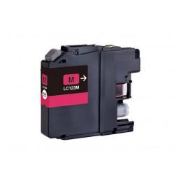 Cartuccia Inkjet compatibile Brother L123 Magenta DCP-J132W DCP-J152W DCP-J4110DW DCP-J552DW J752DW