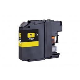 Cartuccia Inkjet compatibile Brother L123Y DCP-J132W DCP-J152W DCP-J4110DW DCP-J552DW J752DW