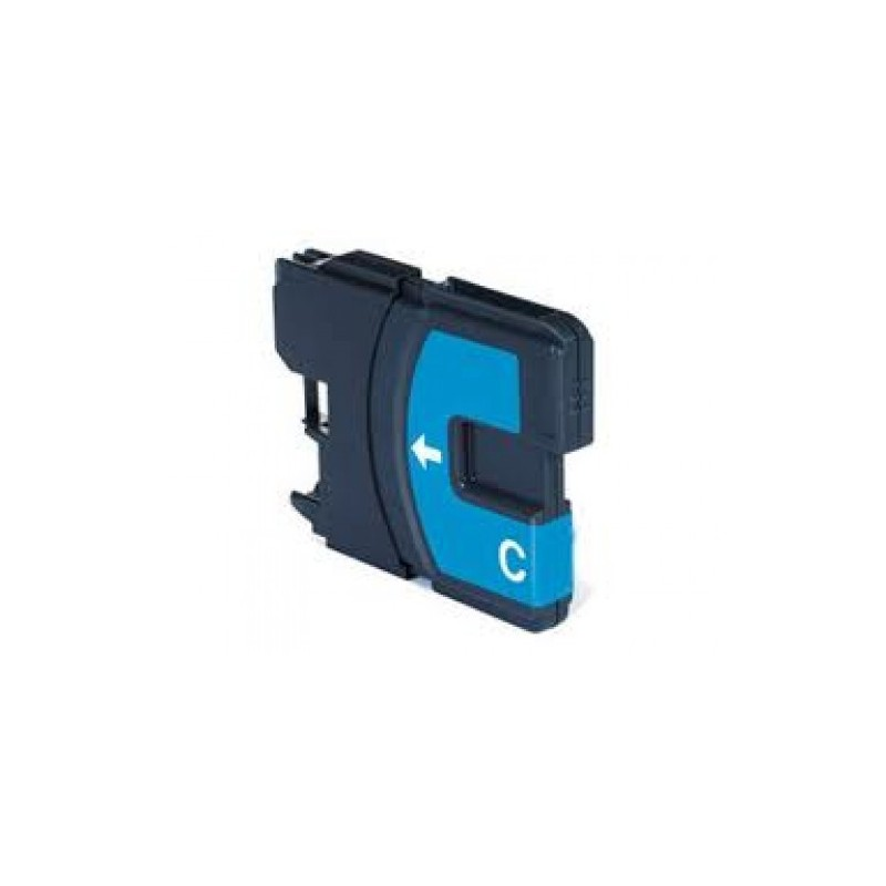 Cartuccia Inkjet compatibile Brother LC1100C LC980C DCP 145C 165C 185C 195C 197C 375CW 585CW 6690CW cyano