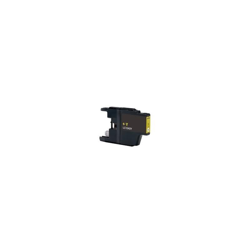 Cartuccia Inkjet compatibile Brother LC1240Y LC1280Y MFC-J430W J625DW J825DW J835DW J5910DW J6510DW J6710 yellow