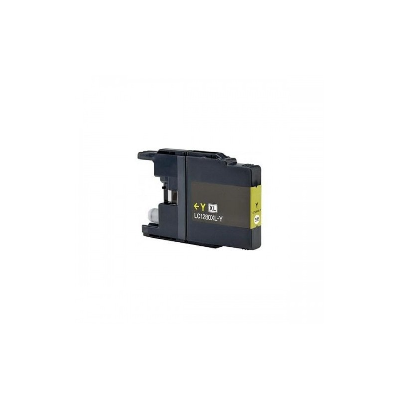 Cartuccia Inkjet compatibile Brother LC1280Y yellow (Long Life)