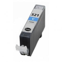 Cartuccia Inkjet compatibile Canon CLI-521C CLI521 con chip cyano