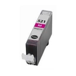 Cartuccia Inkjet compatibile Canon CLI-521M CLI521 con chip magenta