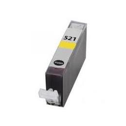 Cartuccia Inkjet compatibile Canon CLI-521Y CLI521 con chip yellow