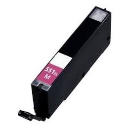 Cartuccia Inkjet compatibile Canon CLI-551M CLI551 Pixma magenta con chip
