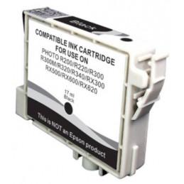 Cartuccia Inkjet compatibile Epson Stylus R200 R220 R300 R320 RX500 RX600 T0481 nero