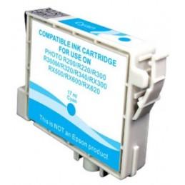 Cartuccia Inkjet compatibile Epson Stylus R200 R220 R300 R320 RX500 RX600 T0482 cyano
