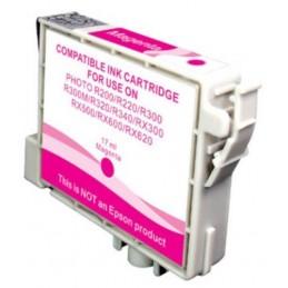 Cartuccia Inkjet compatibile Epson Stylus R200 R220 R300 R320 RX500 RX600 T0483 magenta