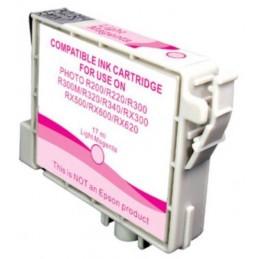 Cartuccia Inkjet compatibile Epson Stylus R200 R220 R300 R320 RX500 RX600 T0486 light magenta