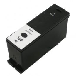 Cartuccia Inkjet compatibile Lexmark 100 XL 14N0820B IMPACT S305 INTERACT S605 INTERPRET S405 S505 nera