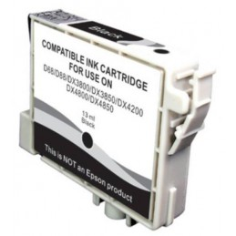 Cartuccia Inkjet per Epson T0611 Stylus D68 D88 DX3800 DX3850 DX4800 DX4850 nera