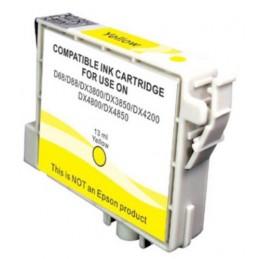 Cartuccia Inkjet per Epson T0614 Stylus D68 D88 DX3800 DX3850 DX4800 DX4850 yellow