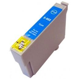Cartuccia Inkjet per Epson T0802 R265 R285 R360 RX560 RX585 RX685 PX710W PX800FW PX810FW cyano