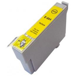 Cartuccia Inkjet per Epson T0804 R265 R285 R360 RX560 RX585 RX685 PX710W PX800FW PX810FW yellow