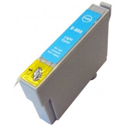 Cartuccia Inkjet per Epson T0805 R265 R285 R360 RX560 RX585 RX685 PX710W PX800FW PX810FW light cyano