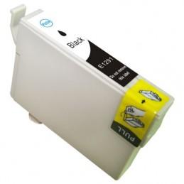 Cartuccia Inkjet per Epson T1291 Stylus SX420W SX525WD SX620FW Office B42WD BX305F BX305FW BX320FW BX525WD BX625FWD nera