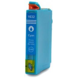 Cartuccia Inkjet per Epson T1632 WorkForce WF-2010 WF-2510WF WF-2520N WF-2530WF WF-2540WF cyano