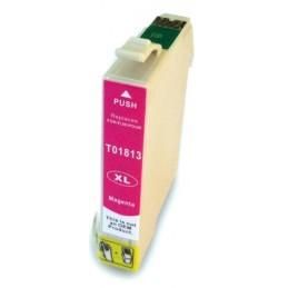 Cartuccia Inkjet per Epson T1813 XP-102 XP-202 XP-212 XP-215 XP-312-XP-315 -XP255 XP-402 magenta