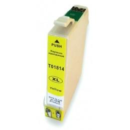 Cartuccia Inkjet per Epson T1814 XP-102 XP-202 XP-212 XP-215 XP-312-XP-315 -XP255 XP-402 yellow