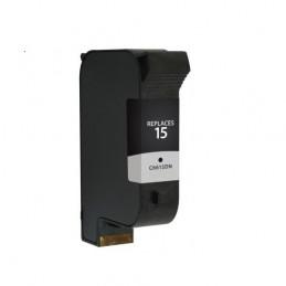 Cartuccia Inkjet per HP 15 C6615DE 42 ML nera