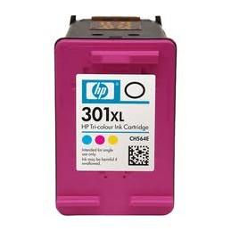 Cartuccia Inkjet per HP 301 XL CH563EE TRIPLA CAPACITà NEW CHIP Colore