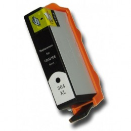 Cartuccia Inkjet per HP 364 XL b110a b010A b109a b109f b109n 5510 5514 5515 con chip Nera