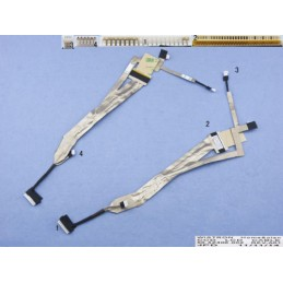 Cavo connessione flat display notebook ACER Travelmate 5230 5530 5730 5530G 5730G LCD CABLE 50.4Z406.002 Laptop Lcd Cable