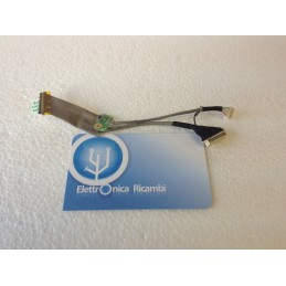 Cavo connessione flat display notebook ASUS N80 N81 N80V LCD CABLE N/A lcd cable