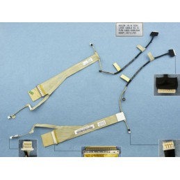 Cavo flat display per Asus K52 K52N K52JR K52DR K52JC 14G22100120V 1422-00RL000