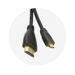 Cavo HDMI A/MICRO HDMI (tipo D) lungo 1.8 m with eternet AL-OEM-38