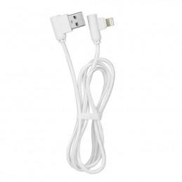 Cavo USB 90 gradi, Apple Iphone, Ipad - Lightning bianco