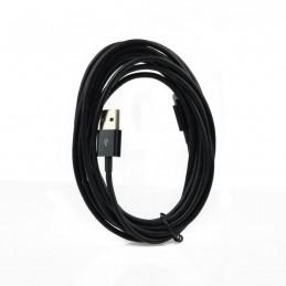 Cavo USB Apple Iphone,Ipad-Lightning 3 metri, nero