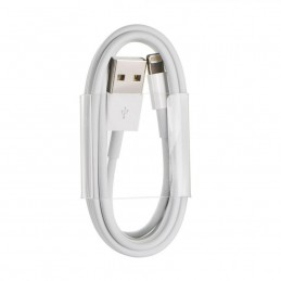 CAVO USB ORIGINALE APPLE MD819ZM/A 2m iPhone 5/5c/5s/6/iPad Air bulk (WHITE BAG)