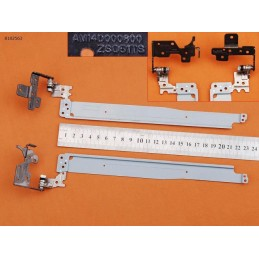 Coppia Cerniere Hinge HP Pavilion hp-15-g 15-r 15-h 15-s 250 g3-255 g3 256 g3 am14d000700-am14d000800
