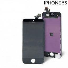 Display  Lcd Hd completo di Touch screen e vetro Iphone 5S nero Tripla A